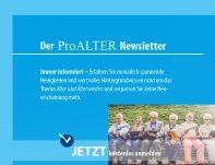 Anmeldung ProALTER Newsletter